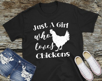 Chicken Lover Tee, Chicken Tee, Chicken T Shirt, Chicken T-Shirt, Chicken Tshirt, Chicken Shirt, Chicken Lovers, Chicken Lover Gift