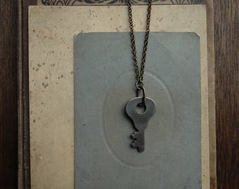 Antique Skeleton Key Necklace - Significance No. 059