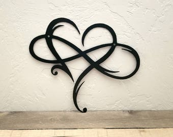 More Colors. Infinity Sign Metal Wall Art ...