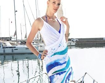 BiggDesignAnemoSS Wave Beach Dress