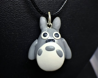 My Neighbor Totoro  Polymer Clay Necklace Charm