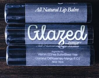 All Natural Rosemary Mango Lip Balm