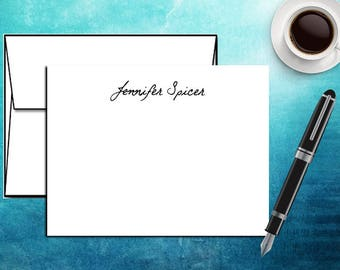 Personalized Notecard Set / Gift Note card Set / Notecard and Envelopes / Custom Notecards / Professional Note card set / Custom Stationary