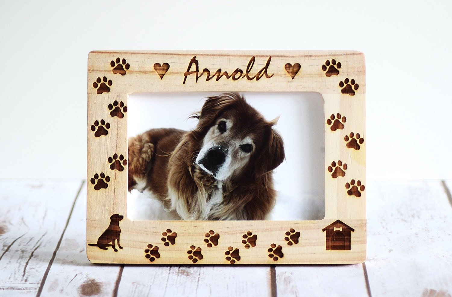 zoom - Dog Picture Frame