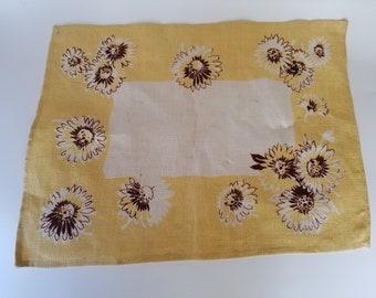 Vintage Sunflower Placemats