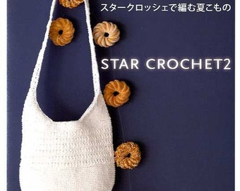 STAR CROCHET ITEMS 2 - Japanese Craft Book