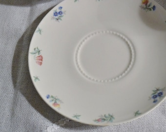 Vintage Harmony House Monticello Saucer Hall Floral Design USA Replacement PanchosPorch