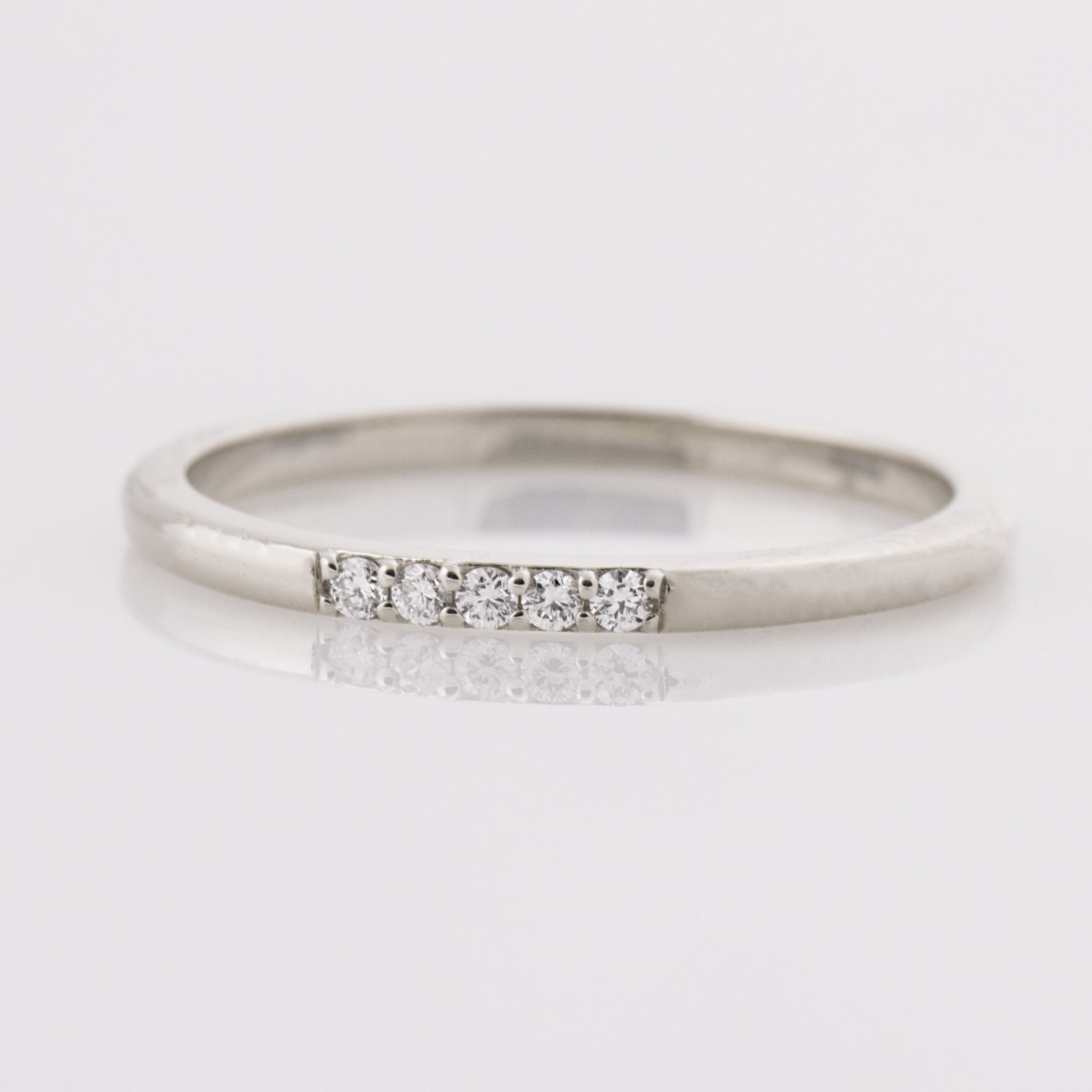 pinterest and diamonds about year images gold bands white band anniversary baguette rings diamond on