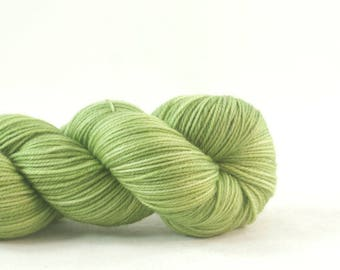 The Green Man Hand Dyed Aussie Sock Yarn Green