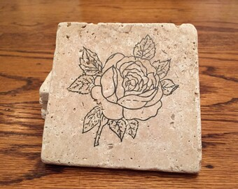 Flower Coasters (Set of 4)