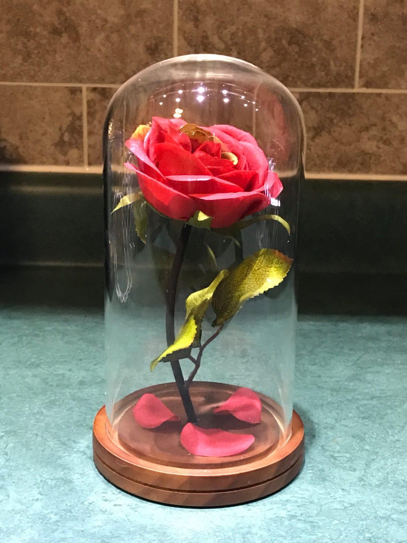 Engraved beauty and the beast rose medium zoom izmirmasajfo