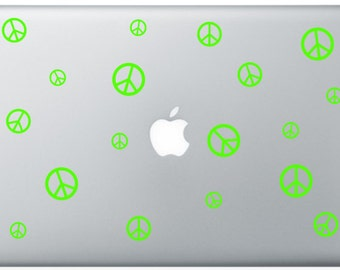 Peace Laptop Decal