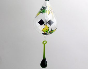 Radiometer hanging Green with Leaves