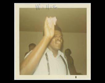"Vintage Snapshot Photo: ""Willie"" c1970s (74572)"