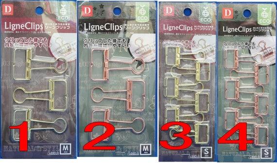 Draht Binder Clip Ligne Clips 4 Arten ausgewählt aus Japan