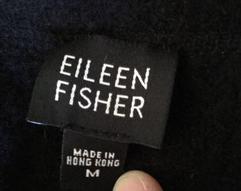 Eileen Fisher wool coat