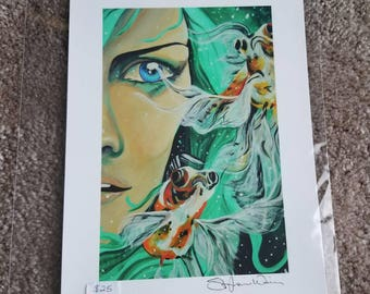 Pisces 8x10 Print