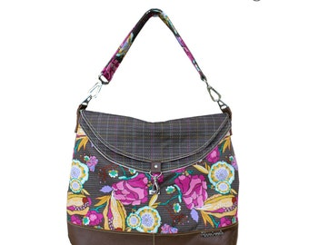 The Hippo Hobo - PDF Sewing Pattern - Instant download, Handbag, Shoulder Bag, Hobo Bag Pattern