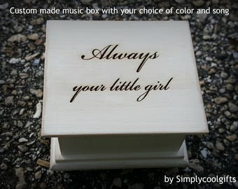 music box, wedding music box, wedding favor, father of bride gift, mother of the bride gift, personalized gift, simplycoolgifts, bride's mom