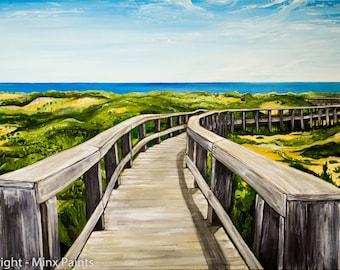 Boardwalk - Art Print
