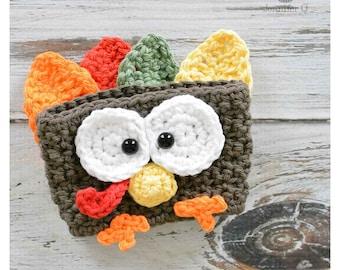 Happy Crochet Turkey Cozies