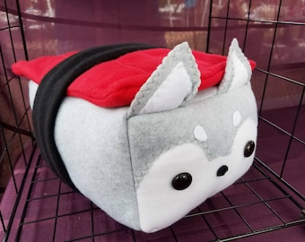 NEW Cute Husky Pillow Plushie