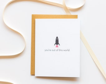 Everyday. Out of This World Card