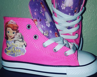 Toddler/Kids-- Sofia the First Converse