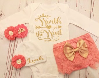 baby girl coming home outfit, newborn baby girl take home outfit, baby girl clothes, hospital outfit, baby girl outfit, baby shower gift