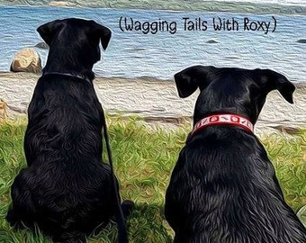 Roxy and Beary's Bar Harbor Adventures (Wagging Tails With Roxy) - Personalized Signed Copy