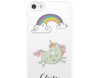 Unicorn iPhone Case, iPhone 5, iPhone 5s, iPhone 6, iPhone 6s, iPhone 6 Plus, iPhone 7, iPhone 7 Plus