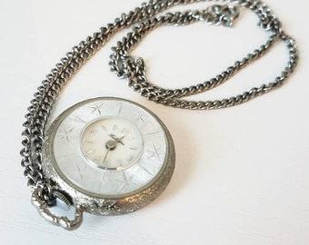 Fieldston Watch Pendant Necklace