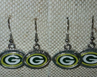 Greenbay Packers Earrings