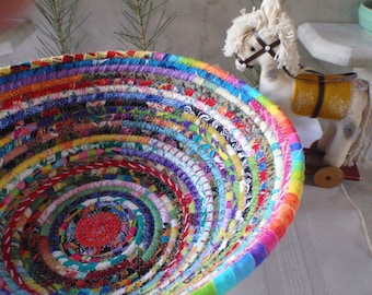 Coiled Basket - Gypsy - LARGE