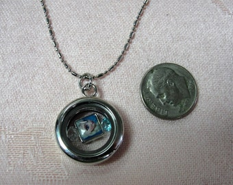 SALE Floating Locket -  Locket, Tiny size  living locket and others- stainless steel