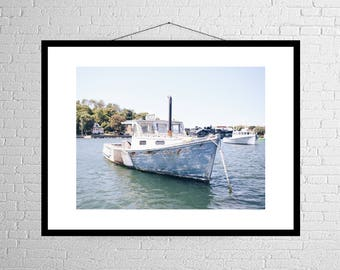 Ocean Transit | New England | Fishing Boat | Photography Print