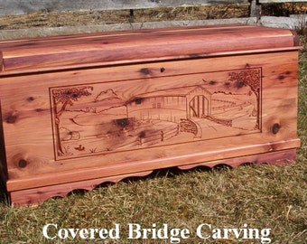 Aromatic Red Cedar Chests- Customized and Personalized