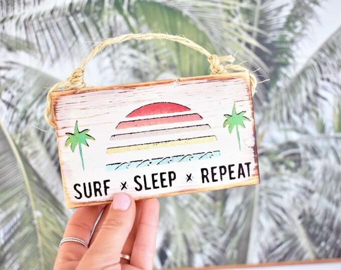 Surf Sign / Beach Sign / Surfing Sign / Dorm Room Decor/ Wholesale Beach Decor /  Surf Art / Ocean Art / Surf Gift / Wholesale Home Decor