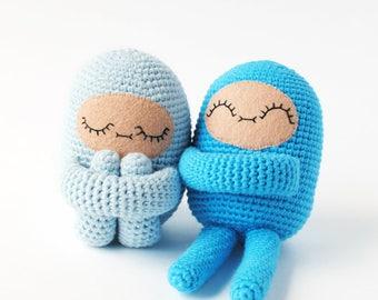 Custom Color Curlie Crochet Doll Made to Order | OOAK Handmade Crochet Doll, Unique Doll, Girls Doll Gift, Boys Toy Gift, Amigurumi Doll