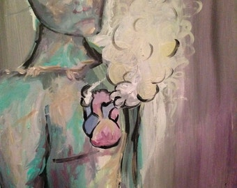 I Dream From The Heart (On 24x18 Canvas)