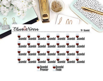 TV Show - Scandal Stickers