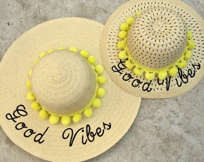 Floppy beach hat set