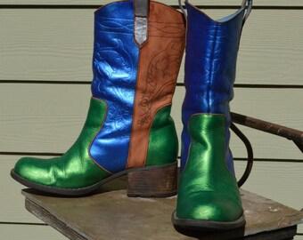 Size 6.5M - Beautiful Indigo by Clarks 12 FAN Boot