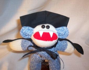Baby Sock Monkey Vampire