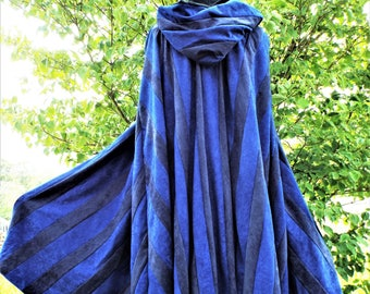 Blue and Black Cloak and Dagger
