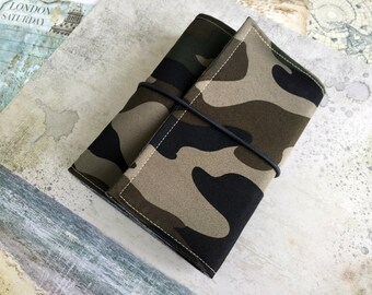 Military journal Army gift Military gift Journal Army wife gift Air force gift Gift for men Best friend gift Travel Notebook Coworker gift