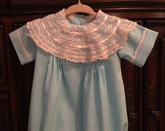 Boy Lace Collar Bubble