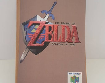 N64 The Legend of Zelda - Ocarina of Time -  Replacement Manual