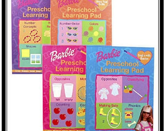 3 Barbie Activity Books Books