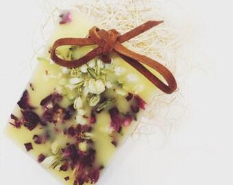 Wax Sachet / Ornament - Jasmine & Roses Botanical Gift Fragrance Home Decor